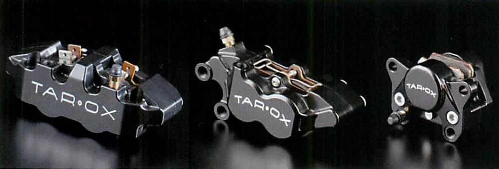 TAR・OX タロックス 異径対向4ピストン ビレットキャリパー 左