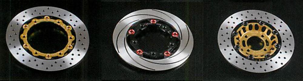 TAR・OX タロックス ディスクローター リアディスク アウター:スリット カラー:ブラック ZRX1200