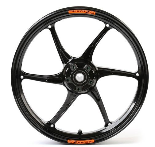 OZレーシング ホイール本体 OZ-6S CATTIVA マグネシウム鍛造ホイール カラー:チタンアルマイト CBR1000RR 08-16