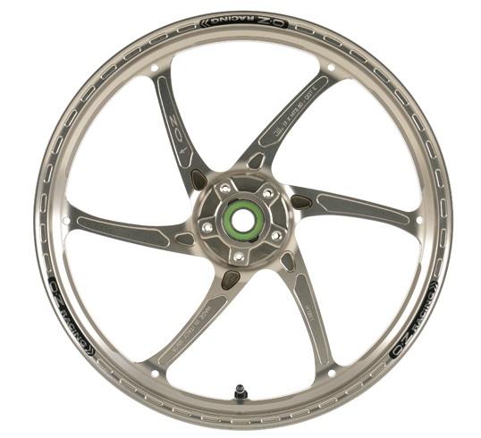 OZレーシング ホイール本体 GASS RS-A アルミ鍛造ホイール カラー:ブラックペイント ZRX1200ダエグ