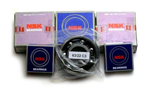 ホーリーエクイップ HollyEquip エンジンケース ベアリングセット RM125(77)