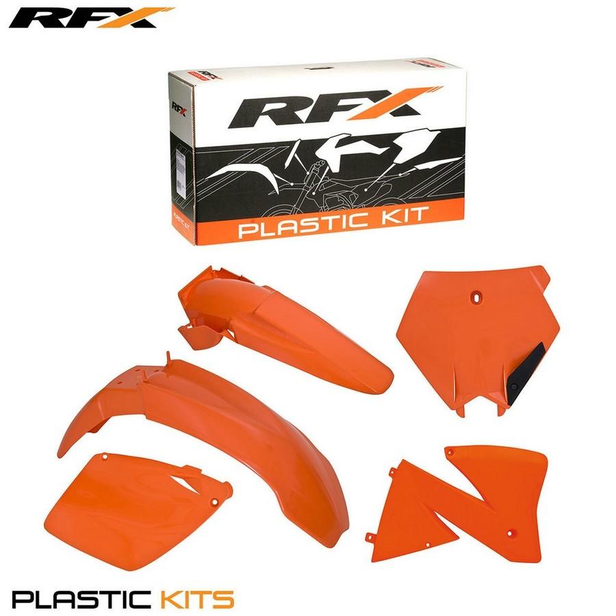 RaceFX レースエフエックス フルカウル・セット外装 RFX プラスチックキット【RFX Plastic Kit】 SX-SXF400-520 00 EXC-EXCF 125-520 00-02