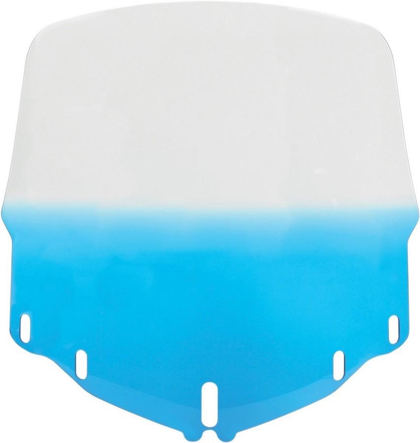 MEMPHIS SHADES メンフィスシェイズ スクリーン ウインドシールド GL1800 トール ブルー 【WSHLD GL1800 TALL, BLU [2312-0141]】