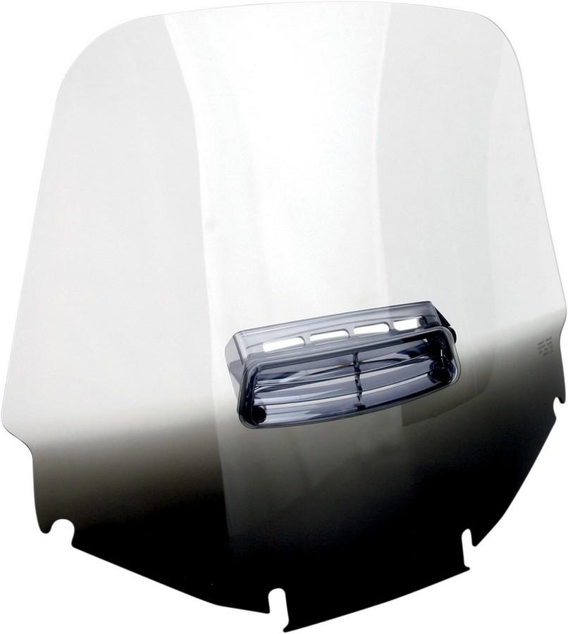 MEMPHIS SHADES メンフィスシェイズ ウインドシールド GL1200 スタンダード VTD ブラック【WSHLD GL1200 STD VTD BLK [2312-0145]】