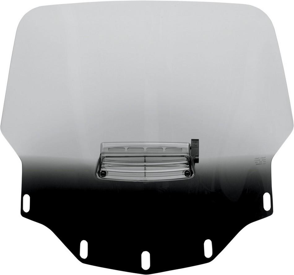 MEMPHIS SHADES メンフィスシェイズ ウインドシールド GL1500 トール VTD ブラック【WSHLD GL1500 TALL VTD BLK [2312-0160]】