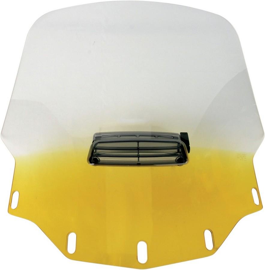 MEMPHIS SHADES メンフィスシェイズ ウインドシールド GL1500 スタンダード VTD イエロー 【WSHLD GL1500 STD VTD YEL [2312-0155]】