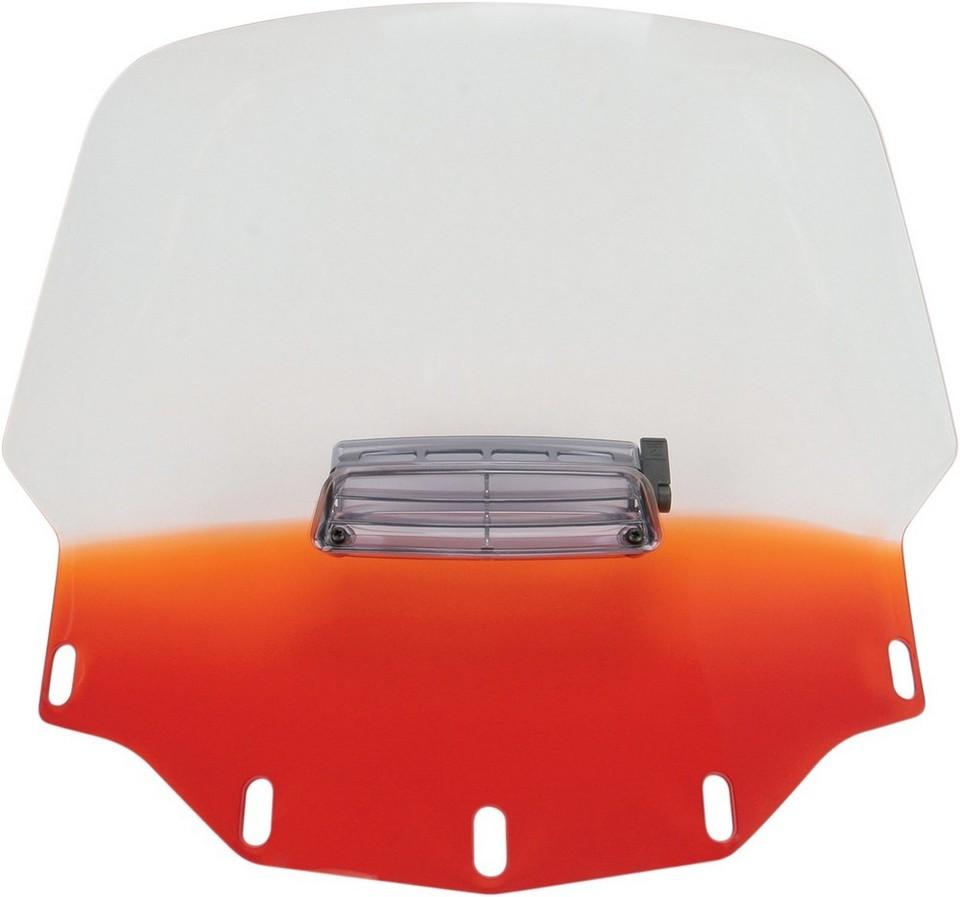MEMPHIS SHADES メンフィスシェイズ ウインドシールド GL1500 トール VTD オレンジ 【WSHLD GL1500 TALL VTD ORG [2312-0166]】