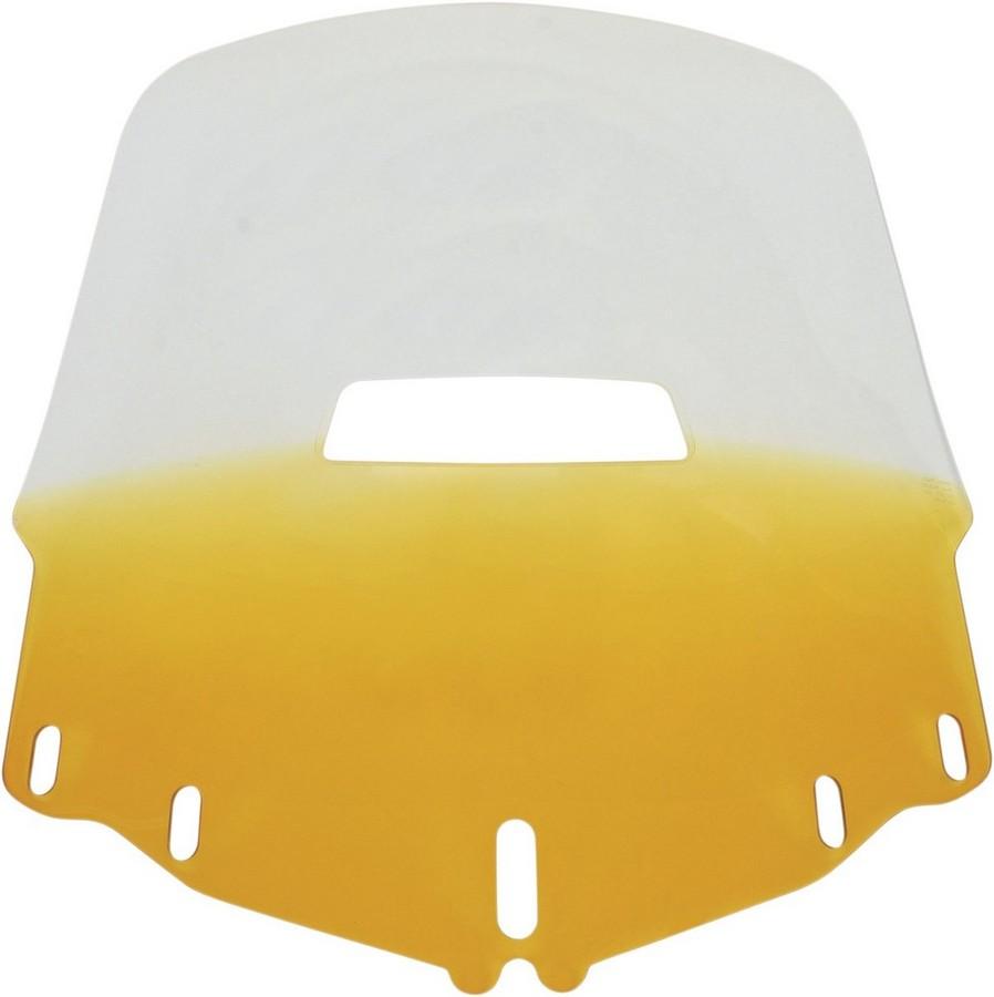 MEMPHIS SHADES メンフィスシェイズ スクリーン ウインドシールド GL1800 スタンダード ベントホール イエロー 【WSHLD GL1800 STD V/H YEL [2312-0173]】