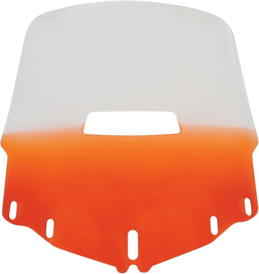 MEMPHIS SHADES メンフィスシェイズ スクリーン ウインドシールド GL1800 スタンダード ベントホール オレンジ 【WSHLD GL1800 STD V/H ORG [2312-0175]】