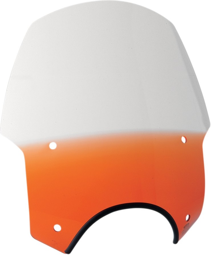 "MEMPHIS SHADES メンフィスシェイズ スクリーン ウインドシールド 9"" MEMPHIS SHADEモデル ALLEYCAT バーントオレンジ 【MEM.SHDS 9""ALLEYCAT-B.ORG [2313-0027]】"