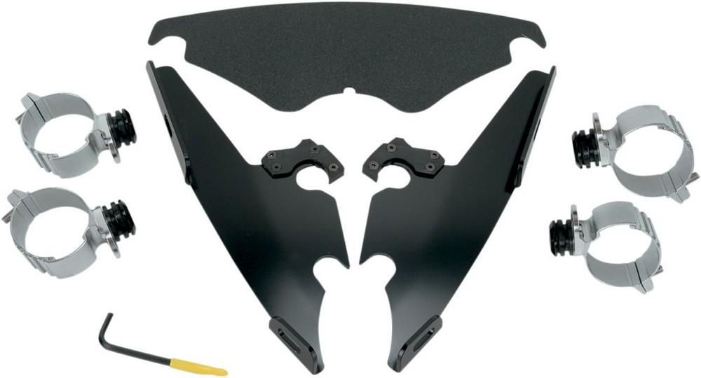 MEMPHIS SHADES メンフィスシェイズ マウントキット TRIGGER LOCKモデル ブラック F/S VR用【MNT KIT TL F/S VR BLK [2320-0082]】