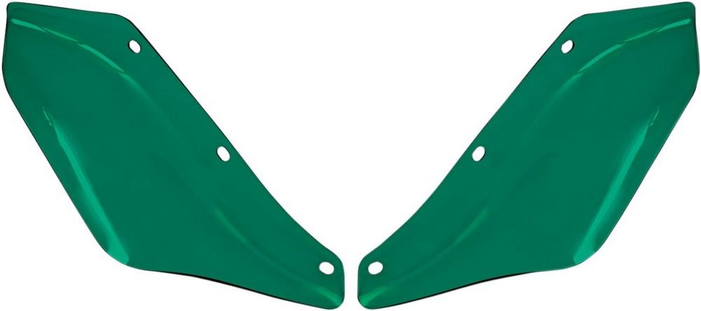 MEMPHIS SHADES メンフィスシェイズ ウィンドディフレクター ティール FLH用【DEFLECTOR FLH TEAL [2350-0192]】