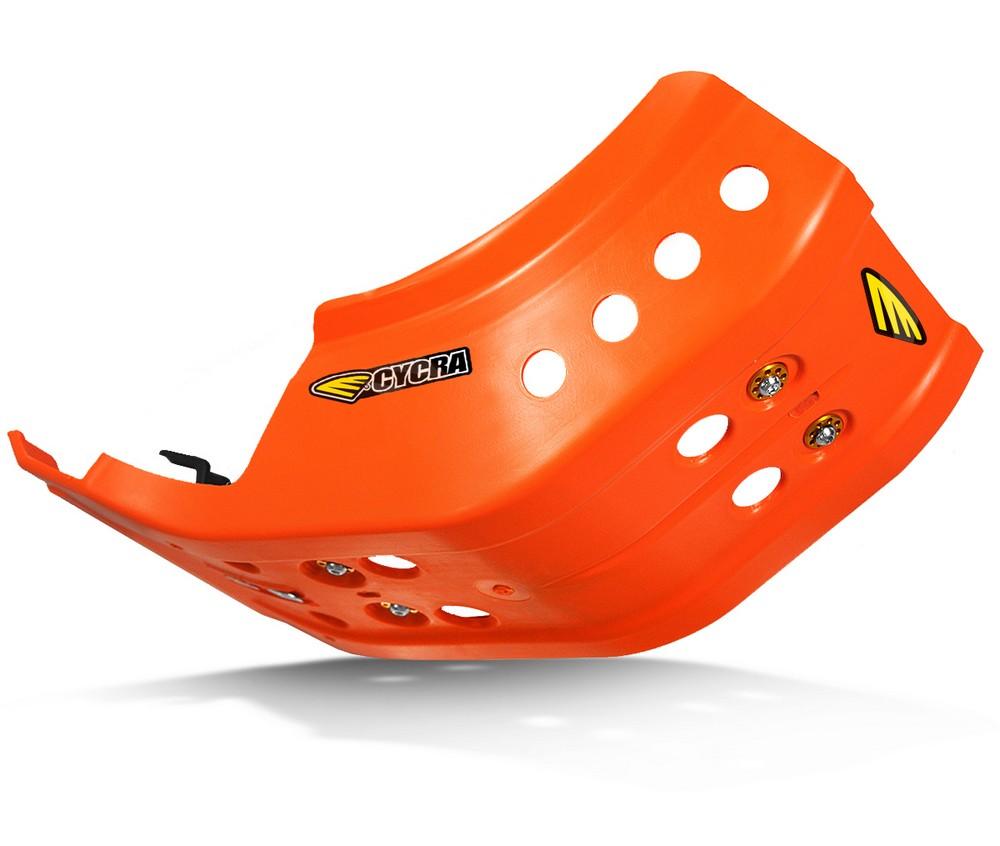 CYCRA サイクラ ガード・スライダー フルアーマースキッドプレート カラー:オレンジ