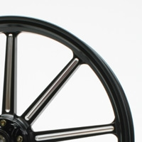 GLIDE グライド ホイール本体 アルミ鍛造ホイール カラー:コントラスト XL1200X フォーティーエイト