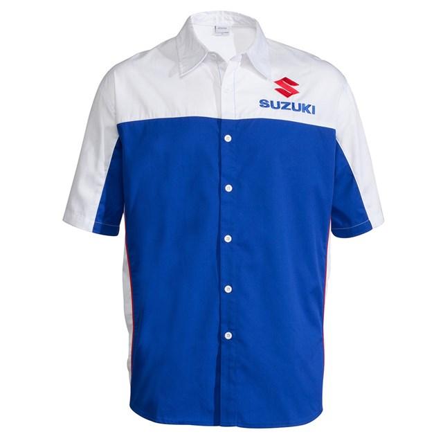 US SUZUKI 北米スズキ純正アクセサリー カジュアルウェア ピットシャツ【Pit Shirt】 サイズ:XXL