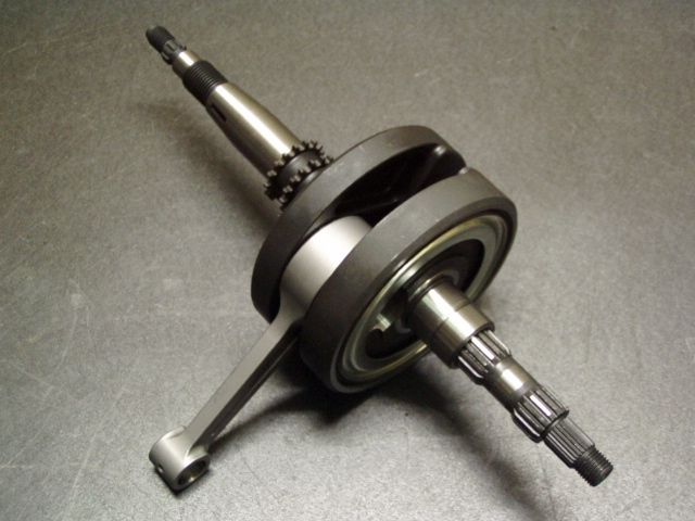 ビームーンファクトリー B-MOON FACTORY BMF その他エンジンパーツ ロングクランクASSY/3mm アドレスV125(全年式)