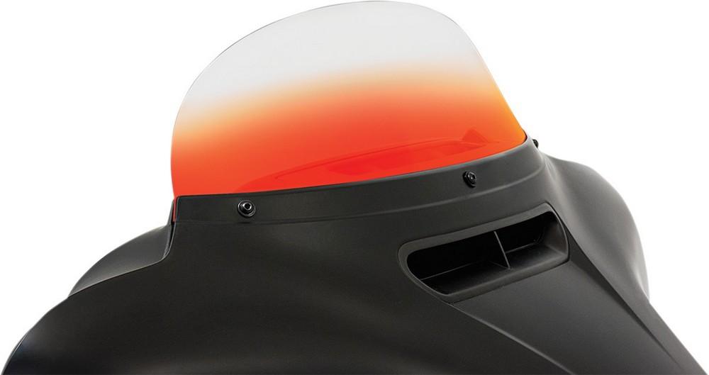 MEMPHIS SHADES メンフィスシェイズ ウインドシールド 7 オレンジ FLHT/X 2014-17用【WSHLD 7 FLHT/X 14-17 ORG [2310-0532]】