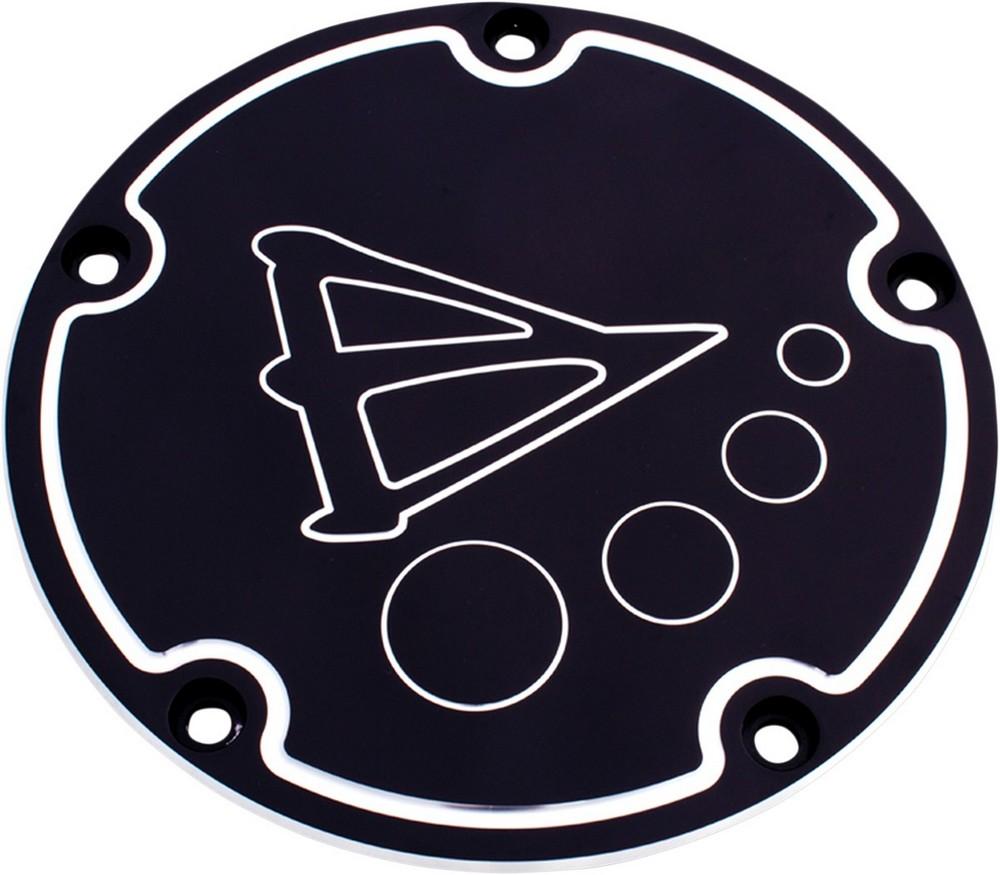 BATTISTINIS バチスチニス エンジンカバー ダービーカバー 5-H ブラック 1999-2017TC 【DERB COVER5-H BLK 99-17TC [0940-0772]】