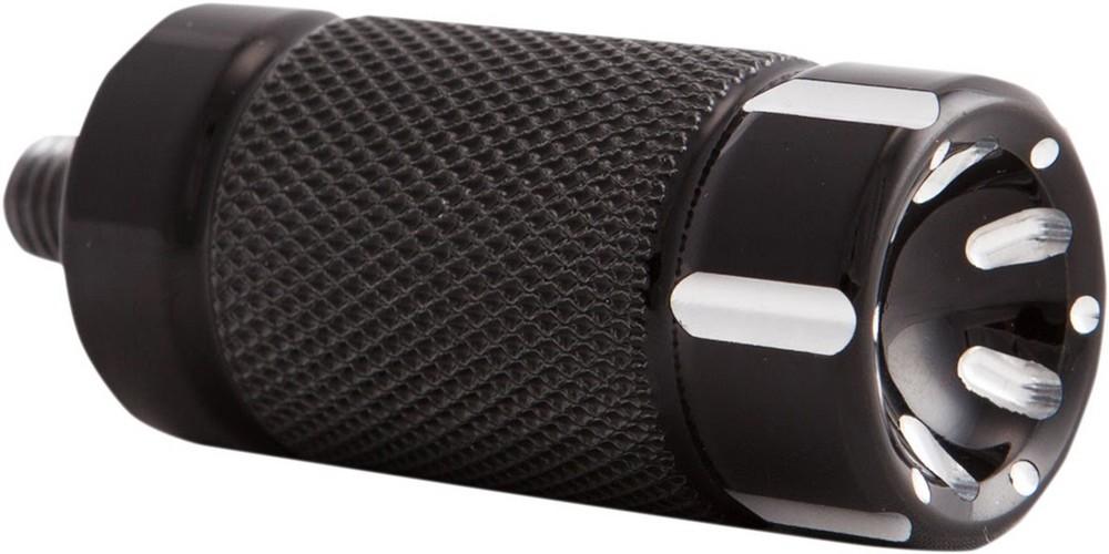TRASK トラスク ブレーキペダル・シフトペダル シフターペグ Vライン ブラック 【PEG SHIFTER V-LINE BK [1603-0281]】