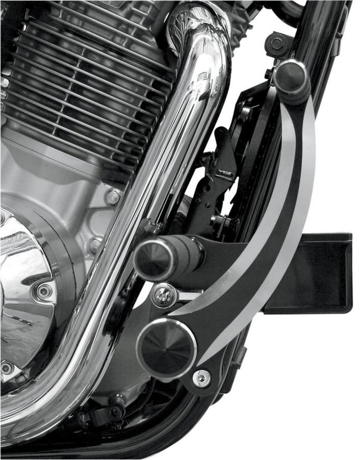 ACCUTRONIX アキュトロニクス フォワードコントロール FURY DMD ブラックSTD 【FWD CTRL FURY DMD BK STD [1622-0373]】 VT1300CX Fury 2010 - 2012