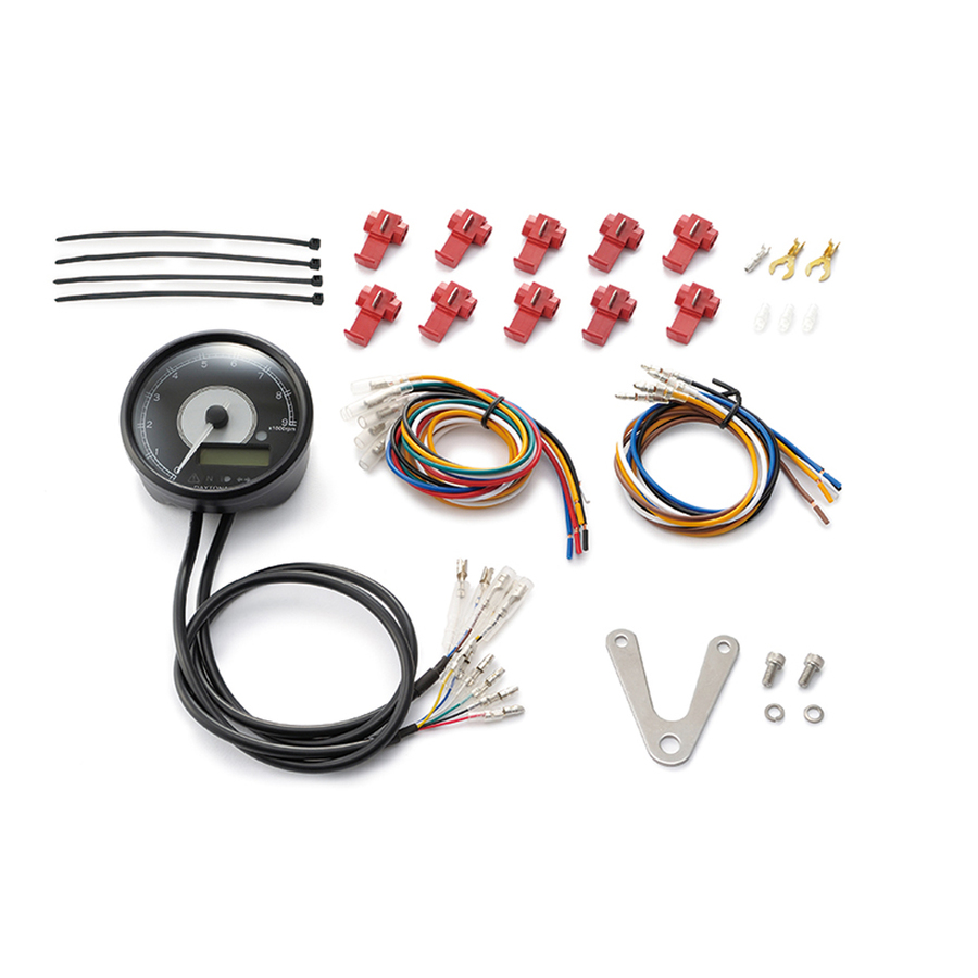 【在庫あり】DAYTONA デイトナ タコメーター VELONA 電気式タコ&スピードメーター タイプ:9000rpmタイプ