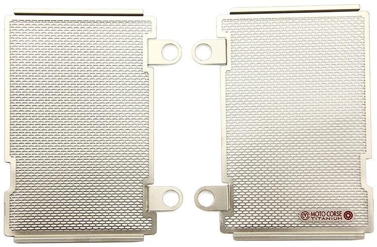 MOTO CORSE モトコルセ ラジエーターコアガード チタニウム プロテクションスクリーン CRF1000L Africa Twin [SD04]