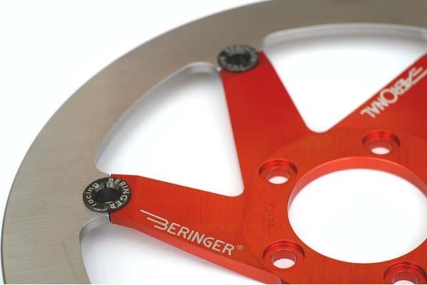 BERINGER ベルリンガー ディスクローター AERONAL DISC (エアロナルディスク) ステンレスローター カラー:レッド XJR1200(94-97)