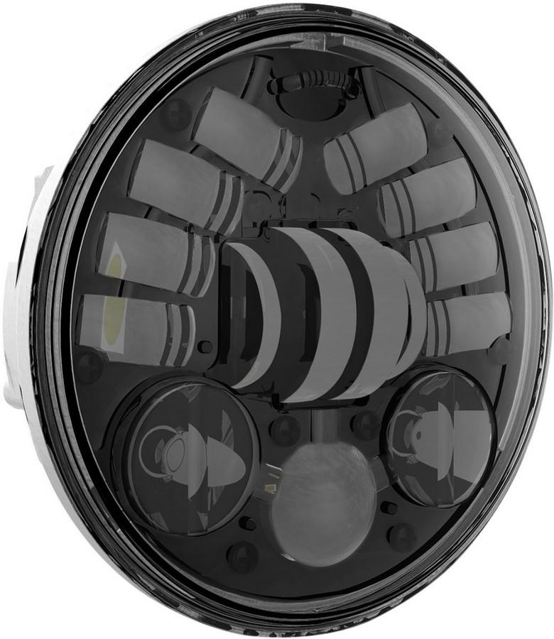 送料無料 ヘッドライト J.W. SPEAKER 新作 人気 ジェーダブルスピーカー 0551681 ヘッドライト本体 ライトリム BK5.75 ケース ブラック 1着でも送料無料 HEADLGHT 8690M LED 5.75 2001-1194