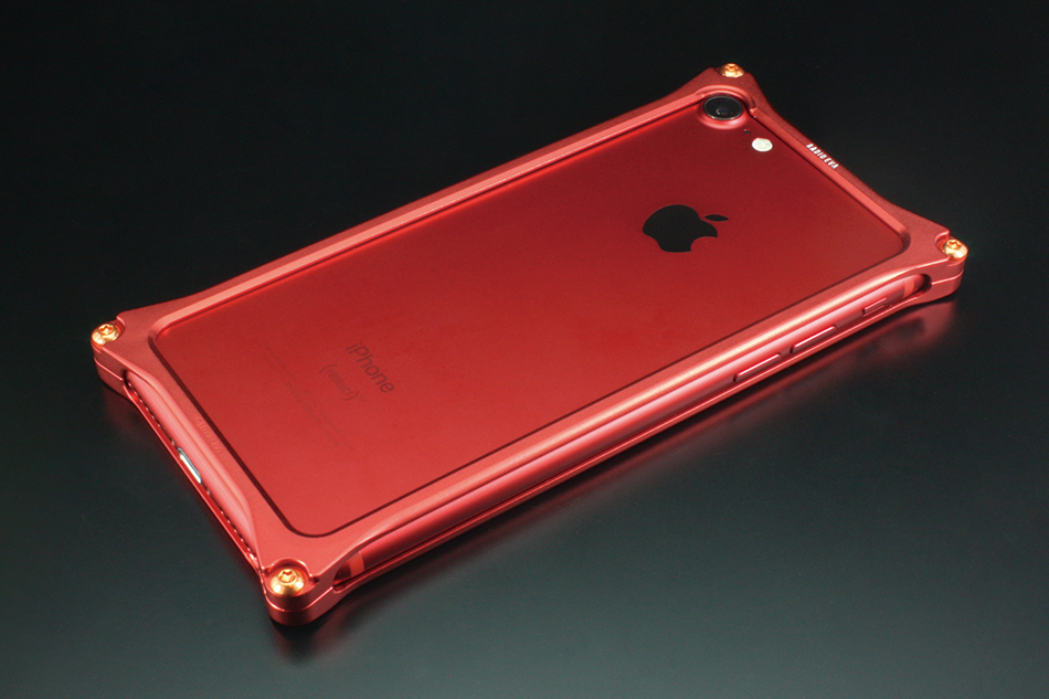 GILD design ギルドデザイン ソリッドバンパー for iPhone7 RADIO EVA Limired