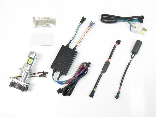 PROTEC プロテック 各種バルブ LB-HS1 LEDヘッドライトバルブ Dio110 15-、リード125 13- Z125PRO 16-、Dトラッカー125 10-、KLX125 10- アドレス110 15-