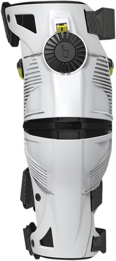 MOBIUS モビウス 膝プロテクター・ニーガード BRACE KNEE WHT/YL サイズ:X-Large [2704-0407]