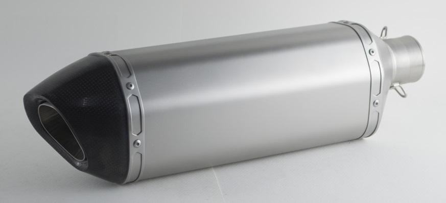 PR2 ピーアールツー バッフル・消音装置 AK ステンレスストレートエキゾーストA サイレンサー全長:25cm 取付部内径:50.8mm