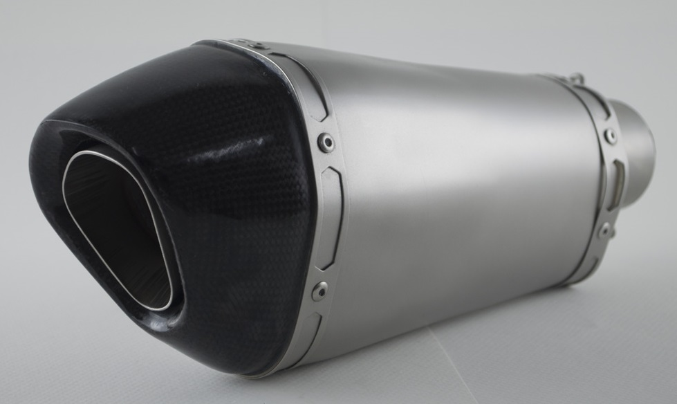 PR2 ピーアールツー バッフル・消音装置 AK ショーティーストレートエキゾースト 取付部内径:63.5mm