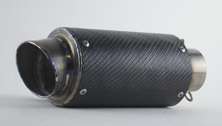 PR2 ピーアールツー バッフル・消音装置 AR カーボンケブラーエキゾースト 取付部内径:50.8mm
