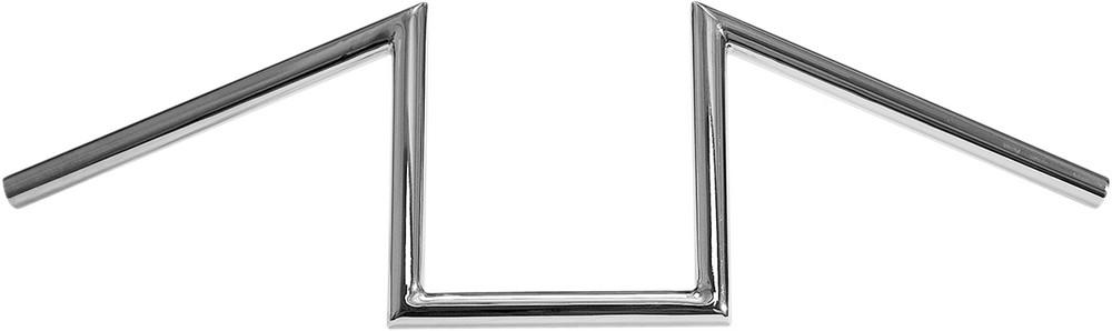 "PAUGHCO パウコ ハンドルバー HANDLEBAR Z 1×12 8"" COLOR:Natural/FINISH:Chrome [0601-2390]"