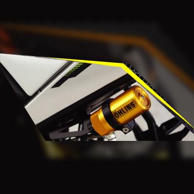 Thai Yamaha OEM Accessories タイヤマハ純正アクセサリー リアサスペンション リアショックセット OHLINS M-SLAZ -2017