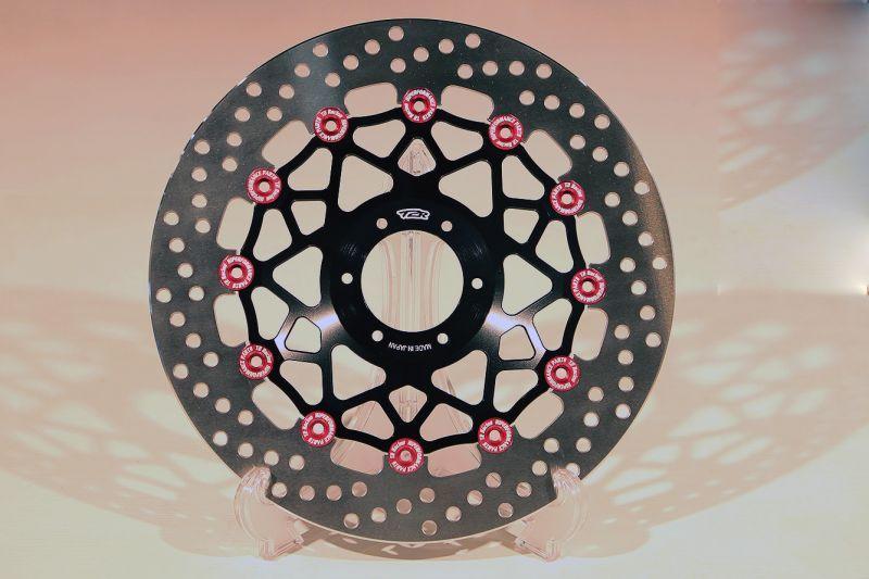 T2 Racing T2レーシング ディスクローター ワークスブレーキローター 296mm タイプ 【ダブルディスク】 カラー:ブラックインナー×レッドピン