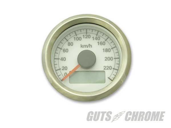 ガッツクローム GUTSCHROME 電気式アジャスタブルスピードメーター DYNAファミリー SOFTAILファミリー SPORTSTERファミリー TOURINGファミリー