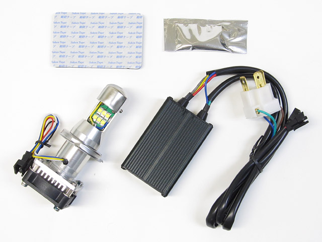 PROTEC プロテック LB4-S3 LEDヘッドライトバルブキット H4 Hi/Lo 3000K