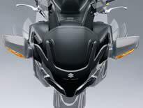 SUZUKI スズキ ミラー類 電動格納ミラー カラー:YV2 バリアブルシルバーメタリック スカイウェイブ650