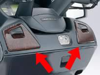 SUZUKI スズキ その他外装関連パーツ 木目調フロントリッドパネル スカイウェイブ650シリーズ(K2-K8モデル) AN650K2/ZK2/K4/AK4/ZK4/K5/AK5/K6/AK6/K7/AK7/K8/AK8