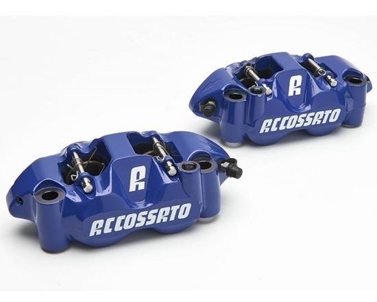 ACCOSSATO アコサット 鍛造レーシング ブレーキキャリパーセットPZ004 カラー:ブルー
