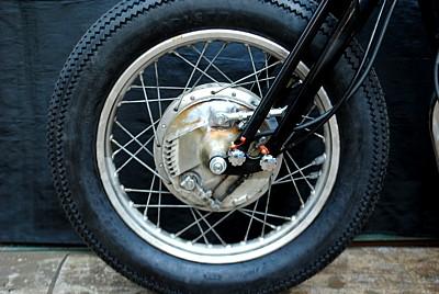 部品屋K&W その他ブレーキパーツ スプリンガー用ドラムブレーキキット SR400/500
