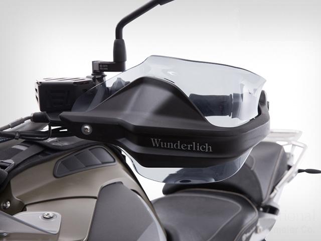Wunderlich ワンダーリッヒ ハンドガードエクステンション F750GS F800GS Adventure F850GS R1200GS LC Adventure 水冷 R1200GS LC 水冷 S1000XR