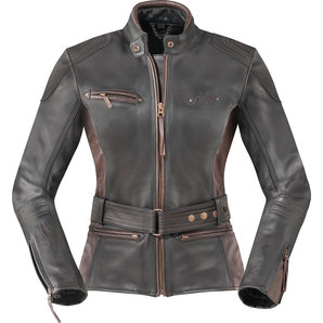 Highway 1 ハイウェイワン HIGHWAY1 SYDNEYIII, LEATHERJACKET, BLK/BROWN レディース
