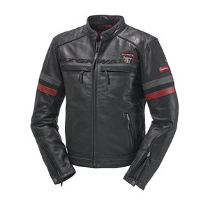 Highway 1 ハイウェイワン HIGHWAY 1 SPORTS II LEATHERJKT, BLACK/RED