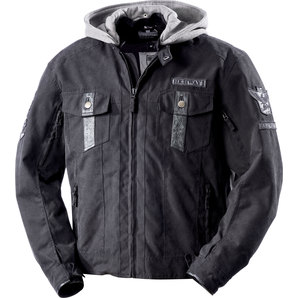 Highway 1 ハイウェイワン HIGHWAY 1 POLY TEXTILE JACKET, BLACK