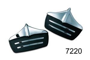 Kuryakyn クリアキン その他外装関連パーツ Mud Flaps[マッドフラップ] 11-17 FLHTCUTG Tri Glide Ultra Classic&11 FLHXXX Street Glide Trikes