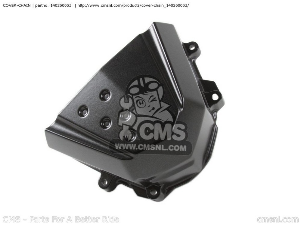 CMS シーエムエス その他外装関連パーツ COVER-CHAIN ZR1000B7F Z1000 2007 USA