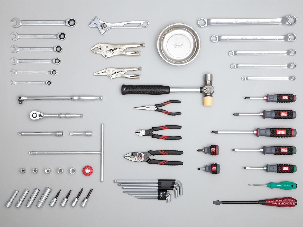 KTC ケイティーシー セット工具 モーターサイクルツールセット用入組品